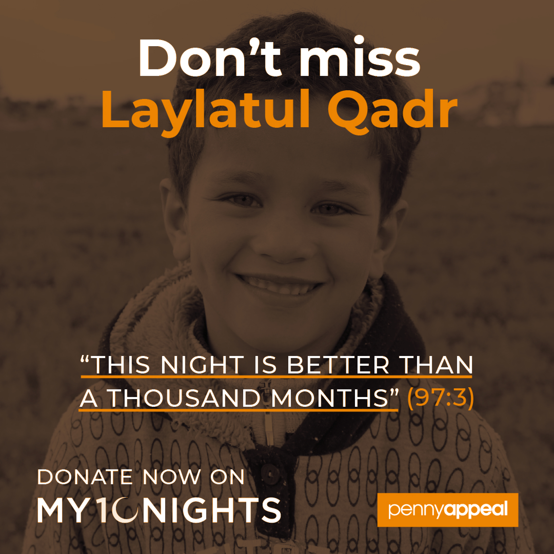 Penny Appeal - My 10 Nights - Square 01 - 2021