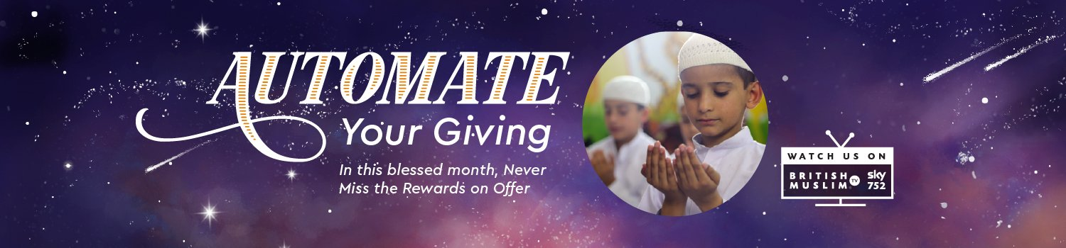 Penny Appeal - This Ramadan 21 - Automate Your Giving - Desktop Website Banner